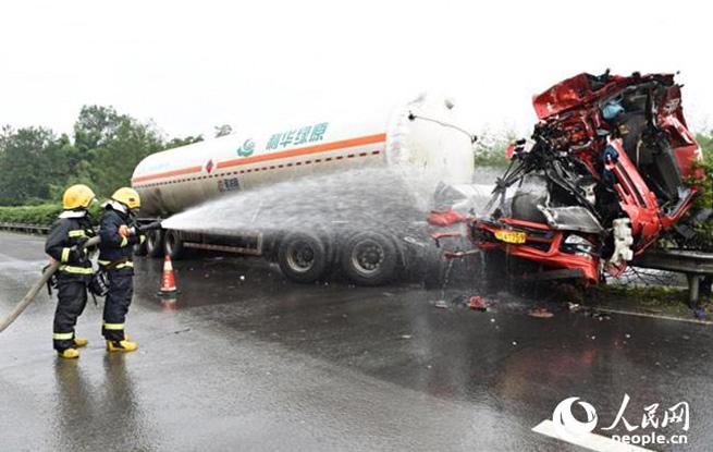 达州消防成功处置一起天然气泄漏事故