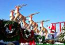 加拿大圣诞花车巡游