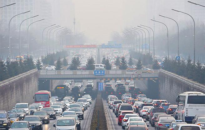 3月京津冀13城市空气质量下降明显