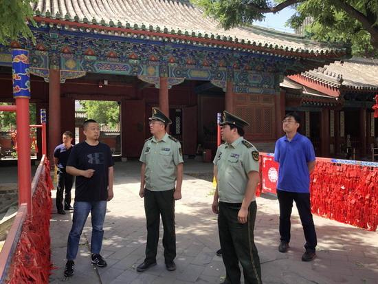 朝阳消防支队开展文物古建消防安全专项行动