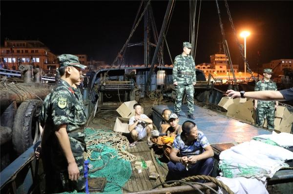 辽宁海警成功破获一起重大非法捕捞水产品案