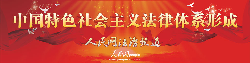 中国特色社会主义法律体系形成